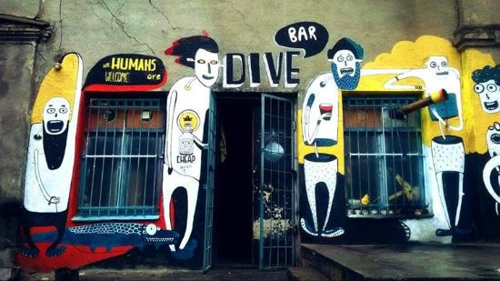 Dive Bar Dive In Tbilisi