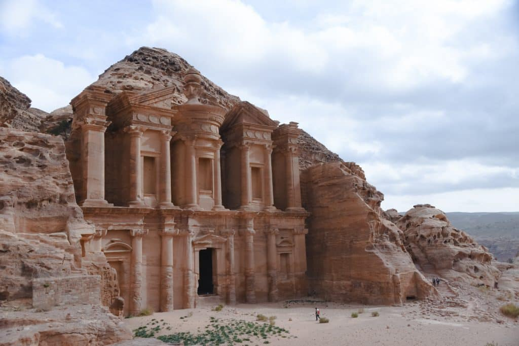 The ancient Nabatean city of Petra