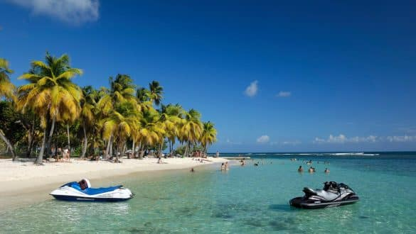 The Caribbean Island of Guadeloupe
