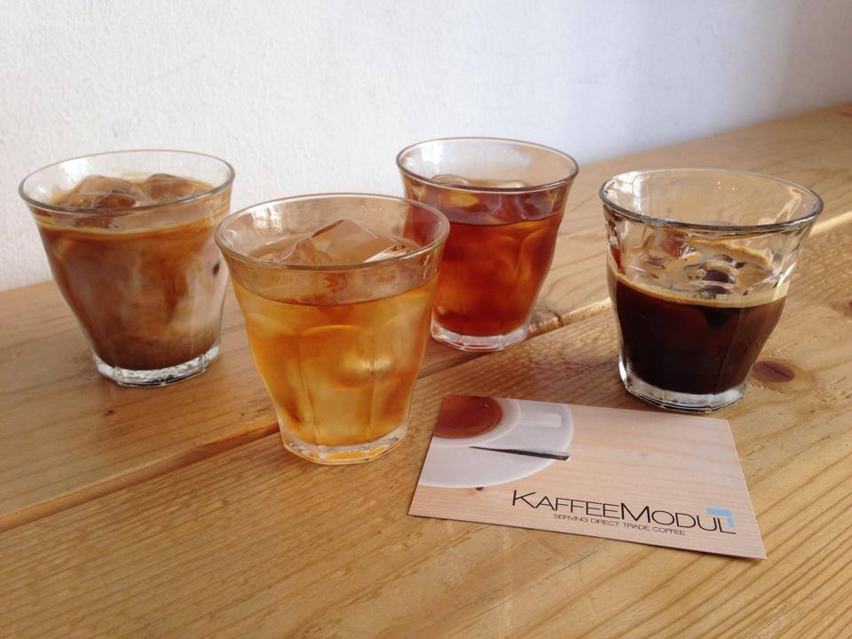 Kaffeemodul Coffee Shop In Vienna