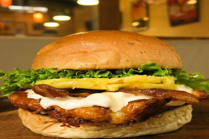 KGB Kiwi Gourmet Burger