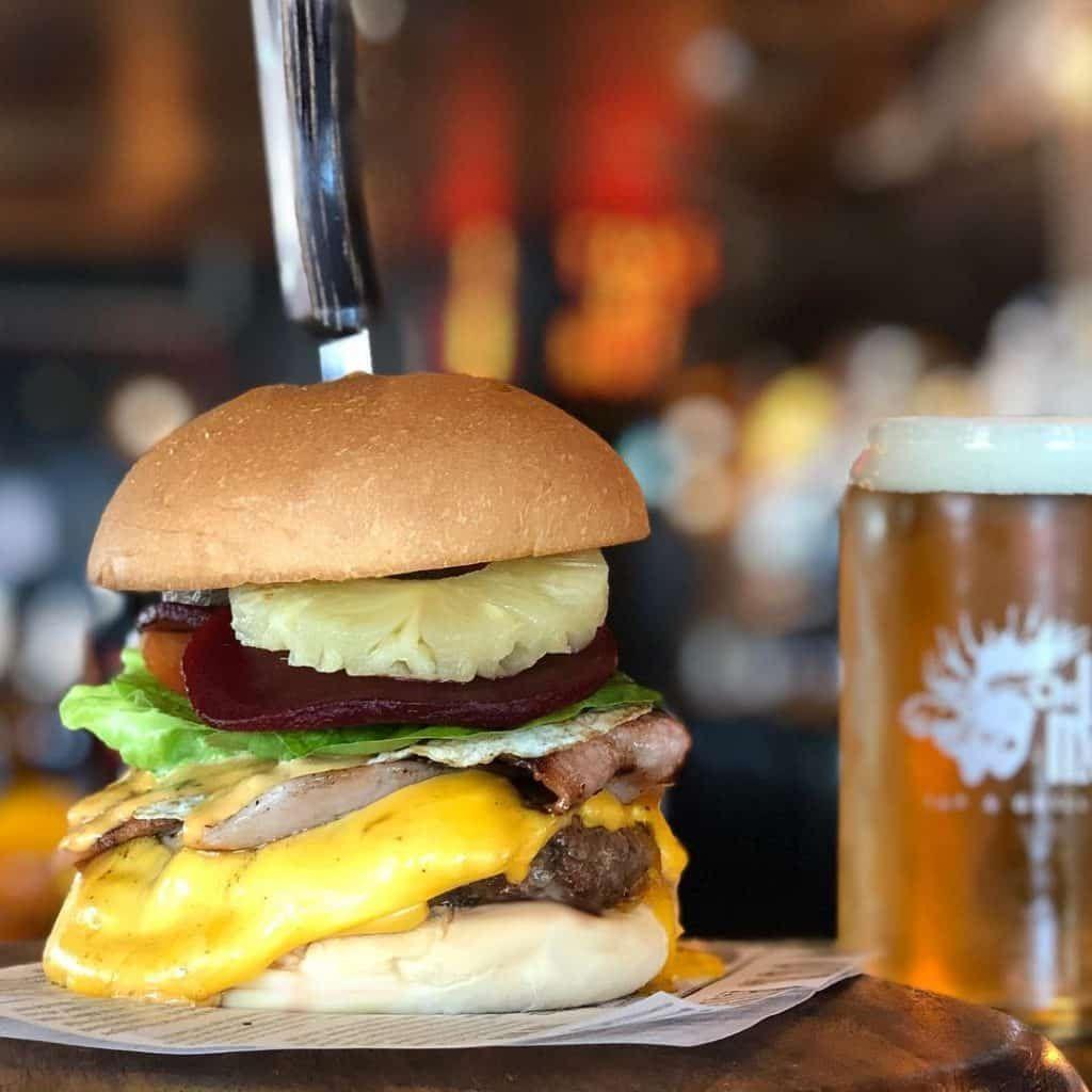 The Loose Moose Hamburger in Gold Coast