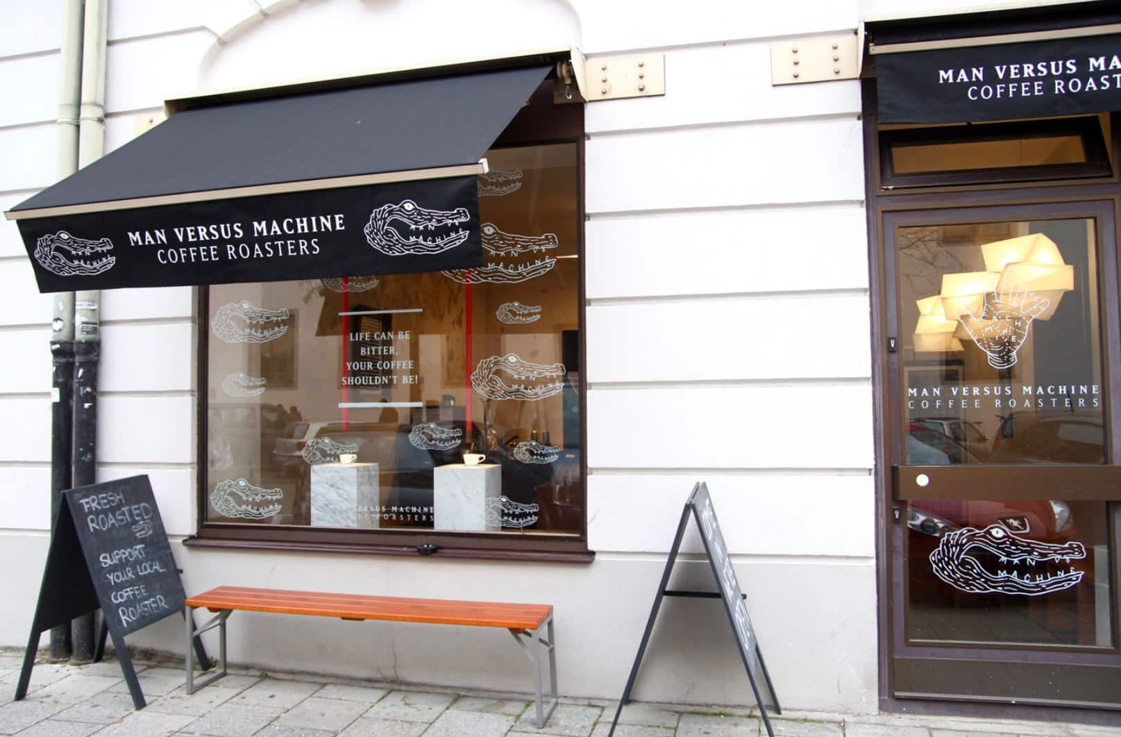 Man Versus Machine Coffee Roasters