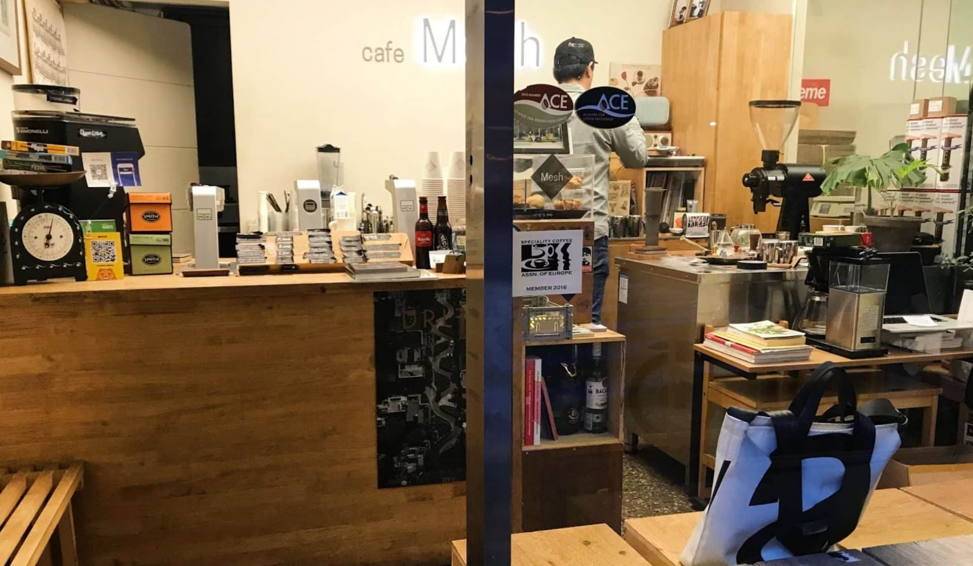 Mesh Coffee in Seoul
