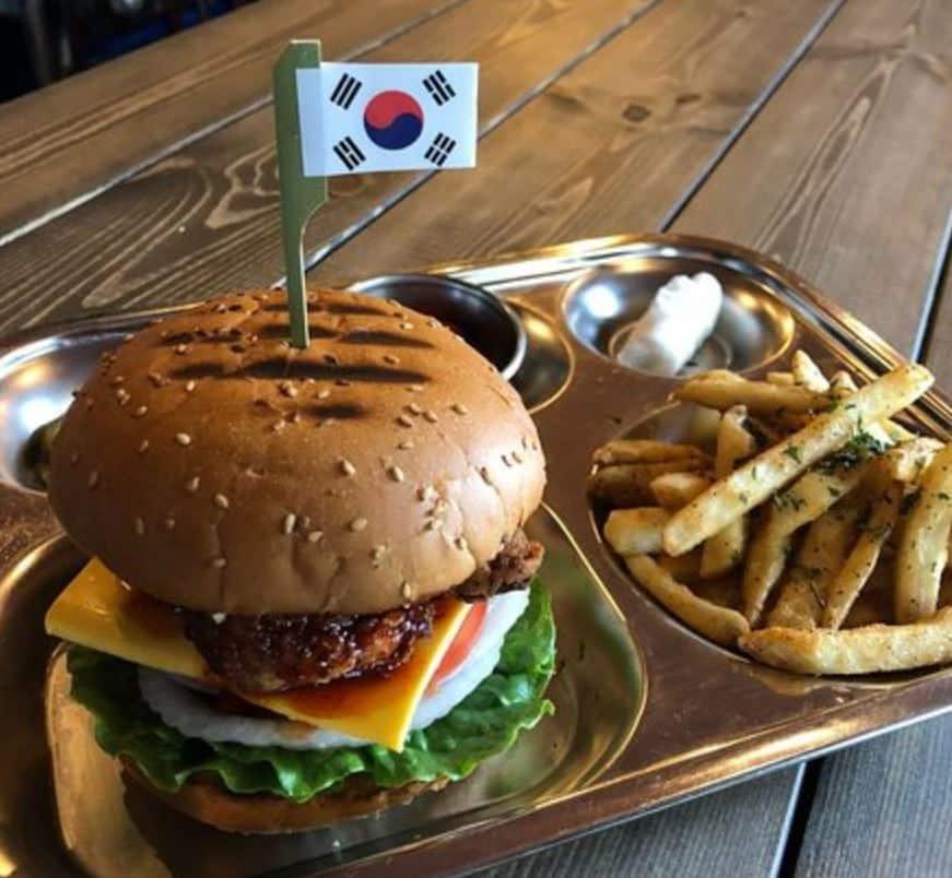 Mil's Burger in Seoul