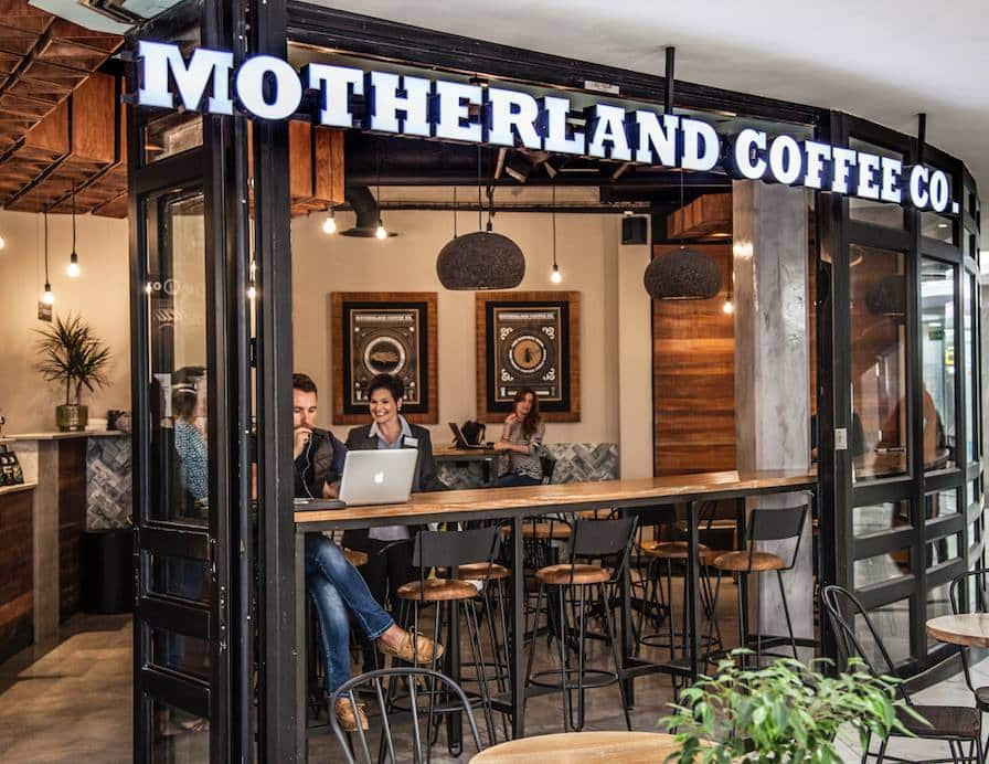 Motherland Coffee Company In Johannesburg