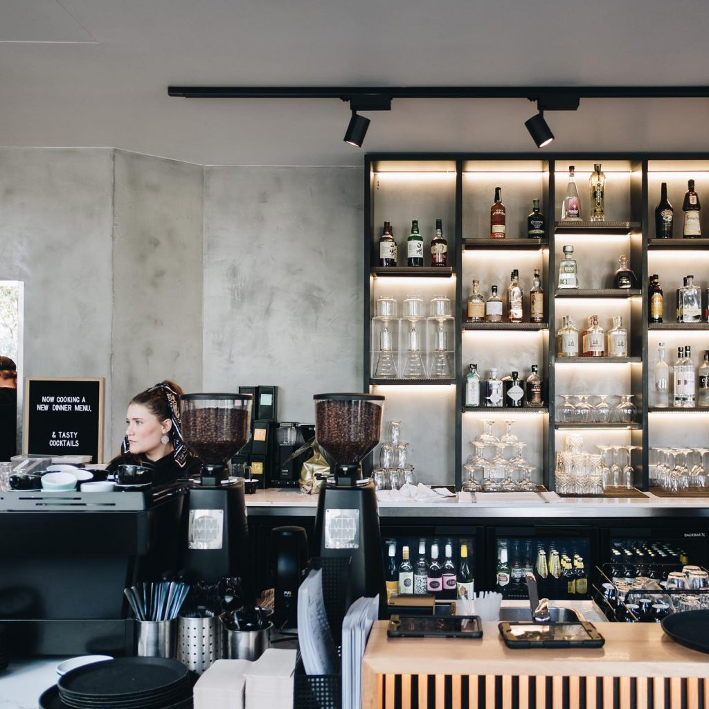 laneway cafe in Gold Coast