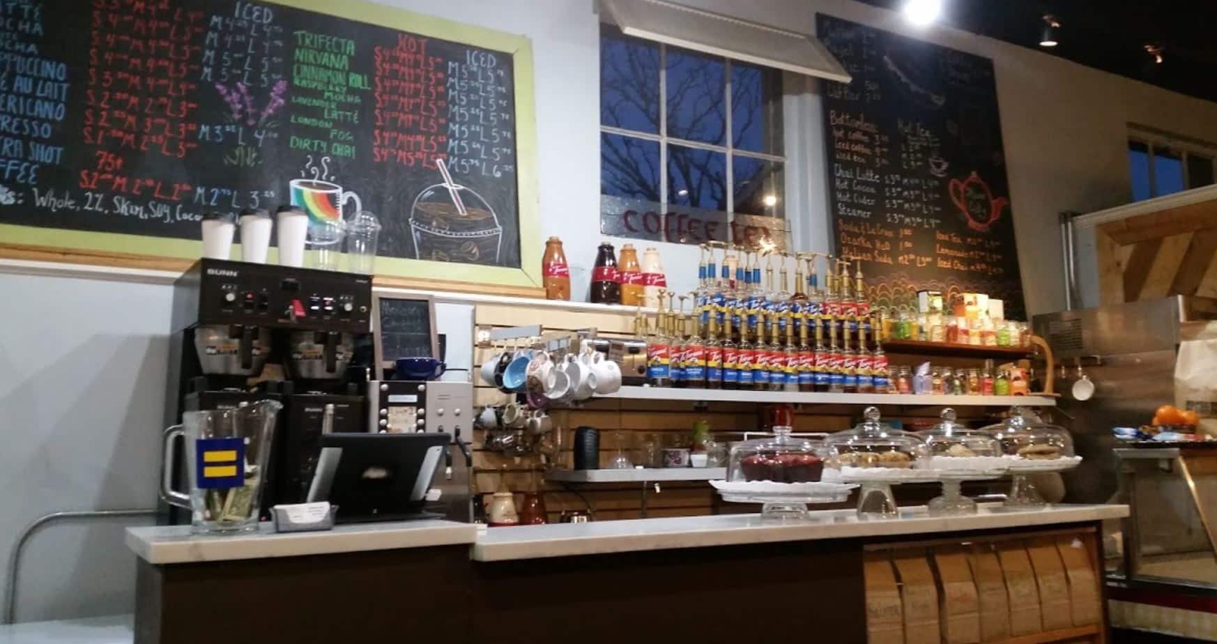 River City Coffee in Little Rock