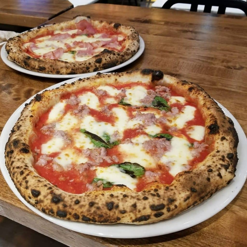 Spacca Napoli Pizzas in Vancouver