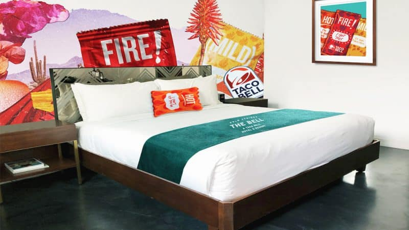 The Taco Bell Pop-Up Hotel