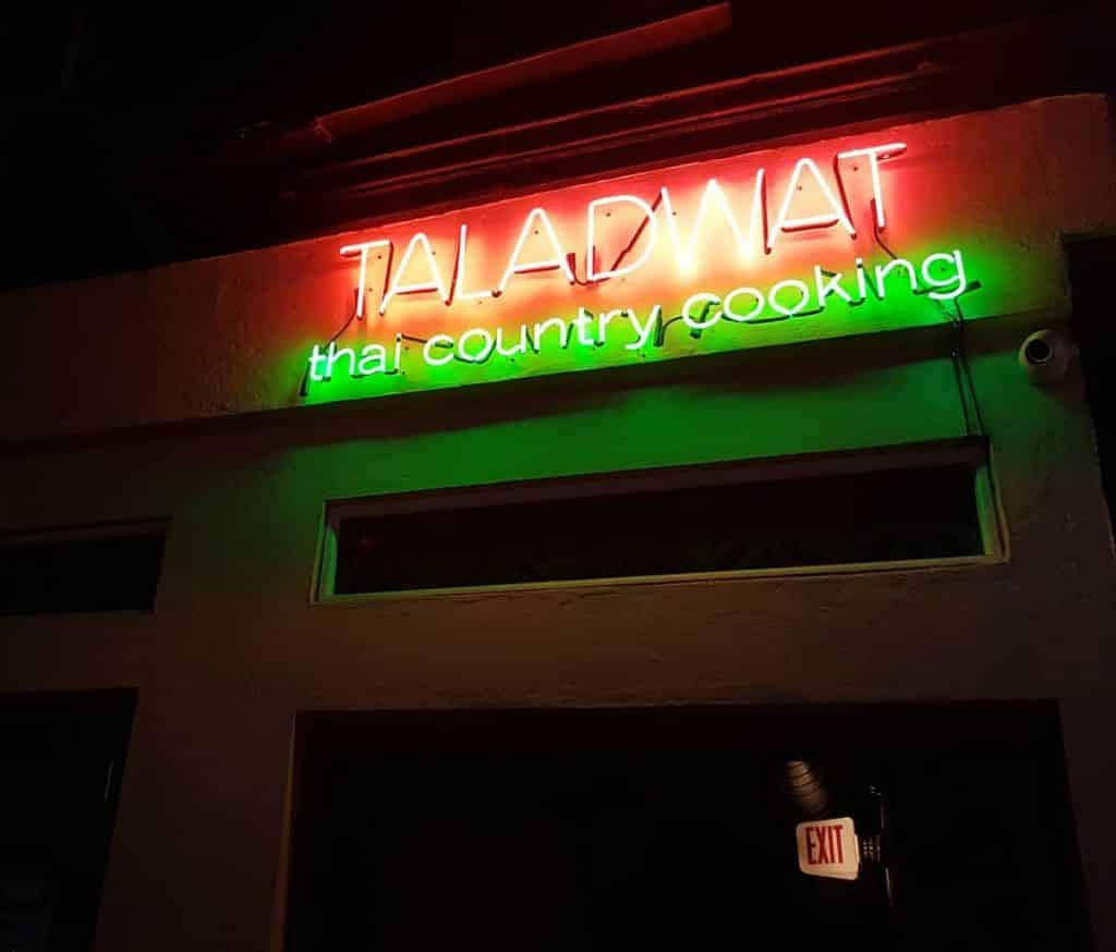 Taladwat Thai Country Cooking