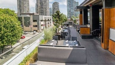 Vancouver patio bars