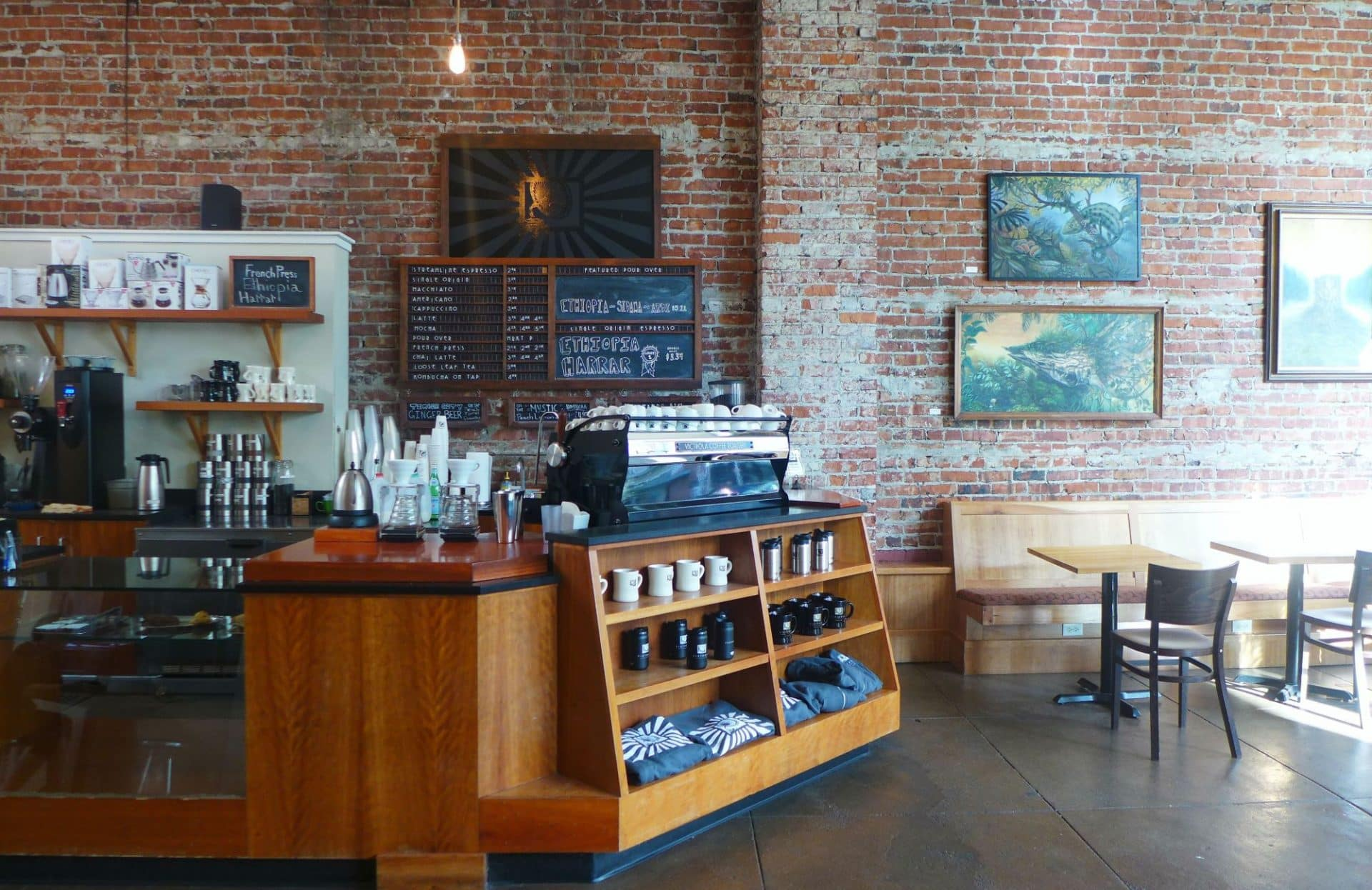 Victrola Coffee Roasters In Seattle