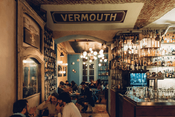 Vermouth Bar in Turin Italy