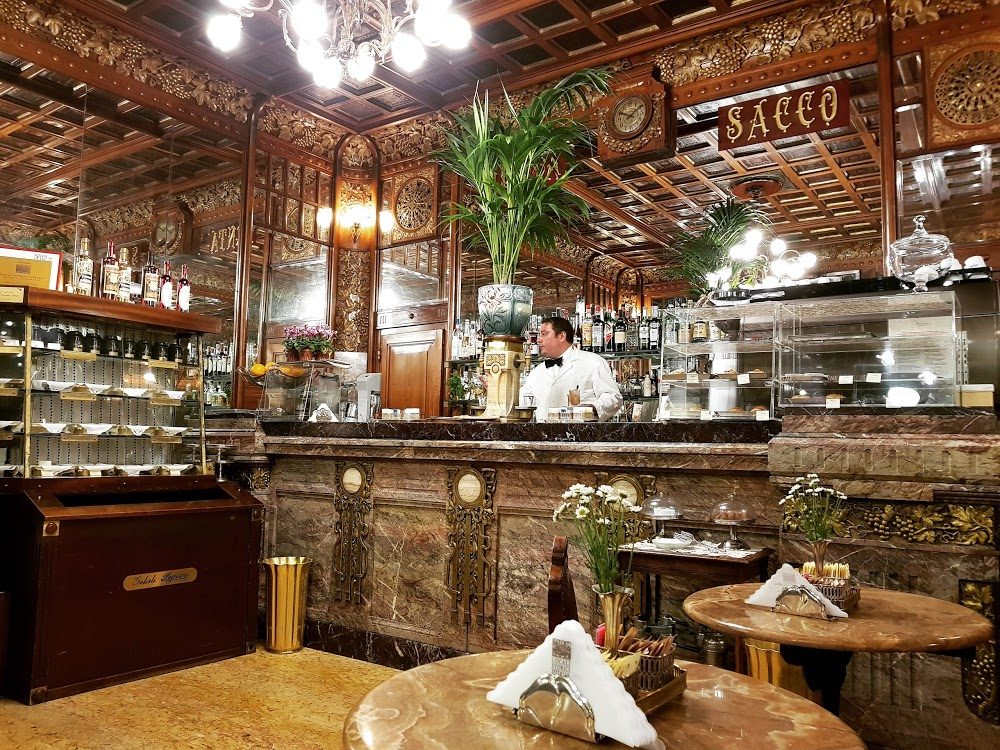 Antique Classic Cafe in Turin, Italy