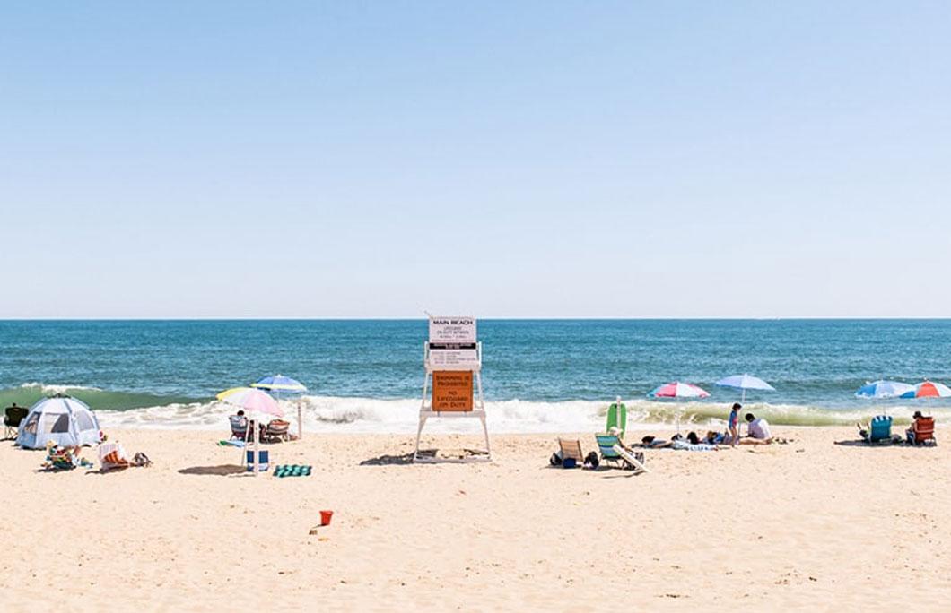 Cooper's Beach in America