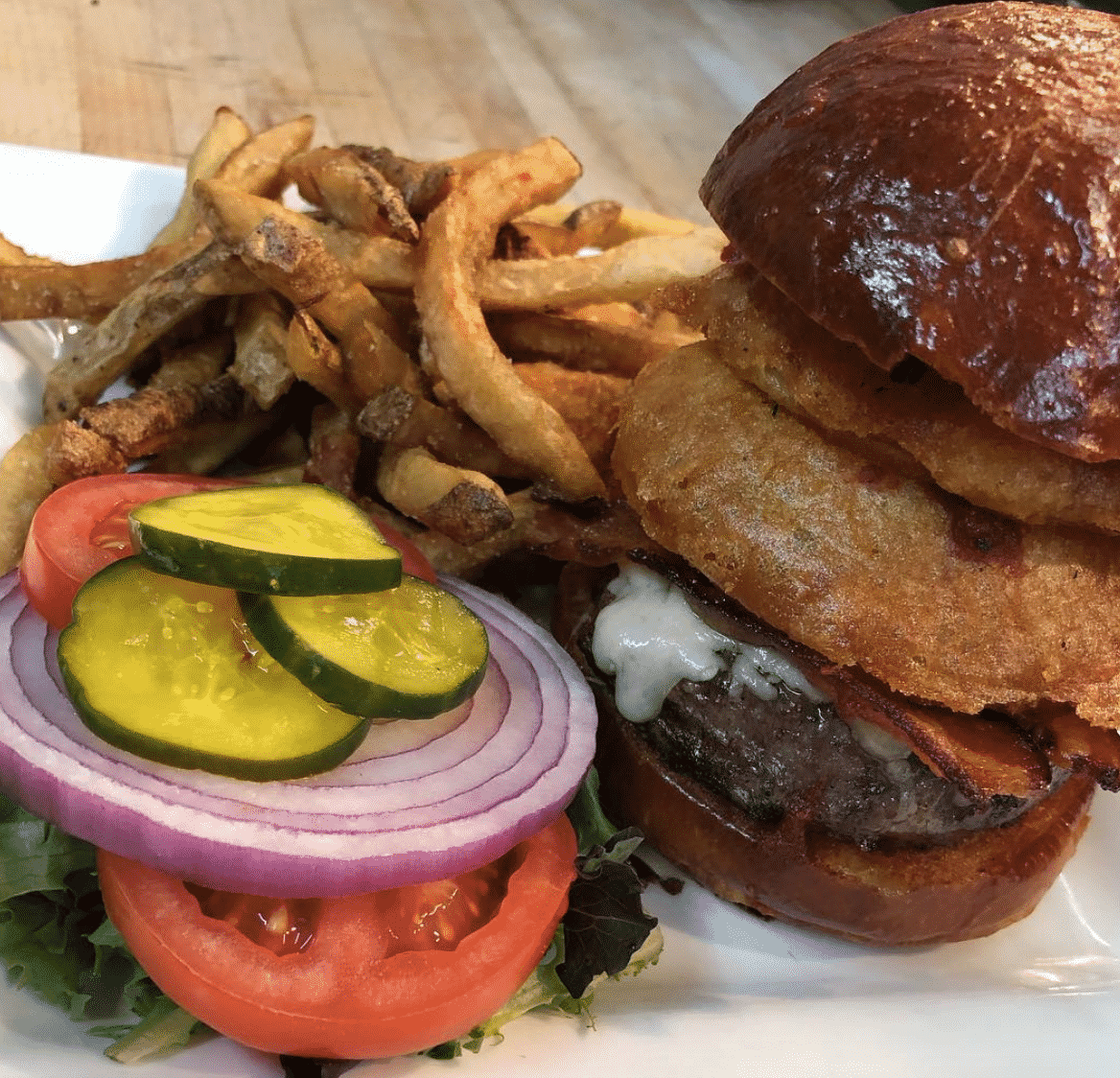 The White Horse Tavern Hamburger