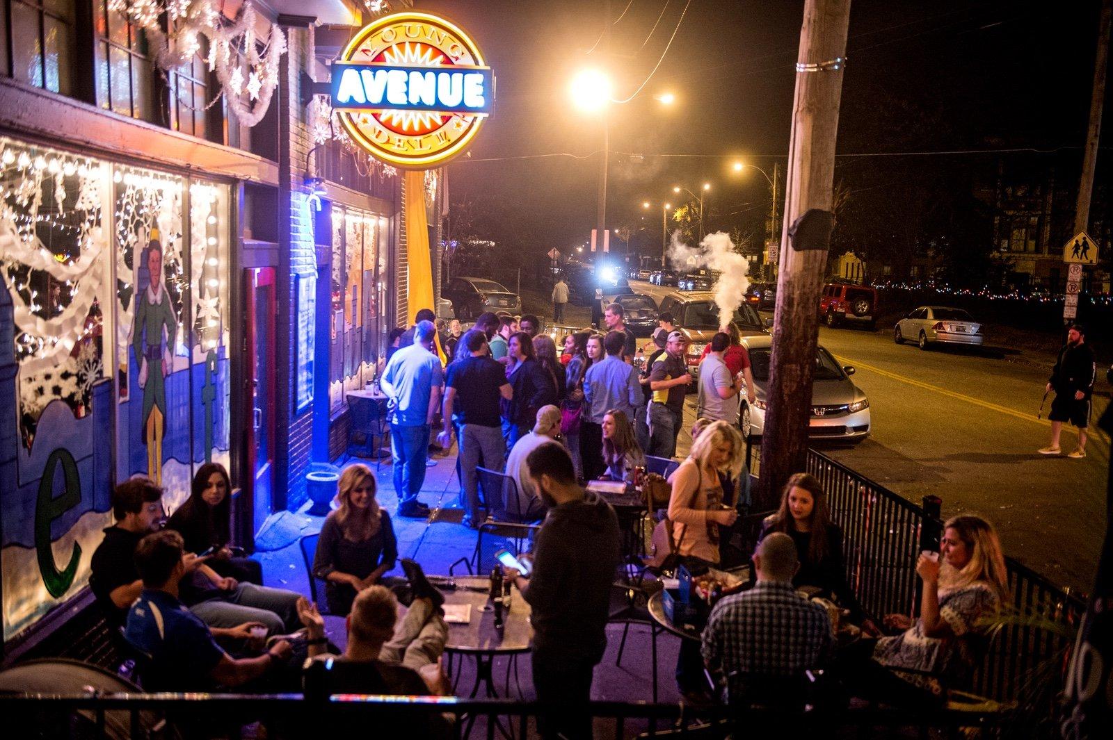 Paula & Raiford's Disco Bar in Memphis