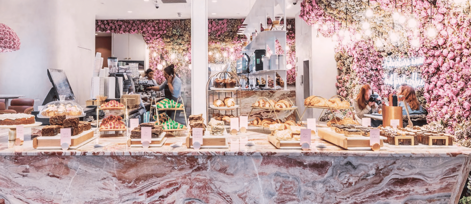 Instagrammable cafes in London