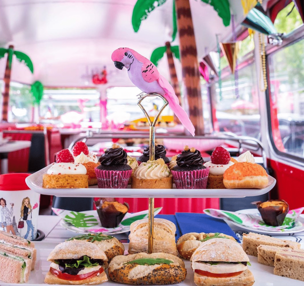 B Bakery Bus Tour Instagrammable Cafe