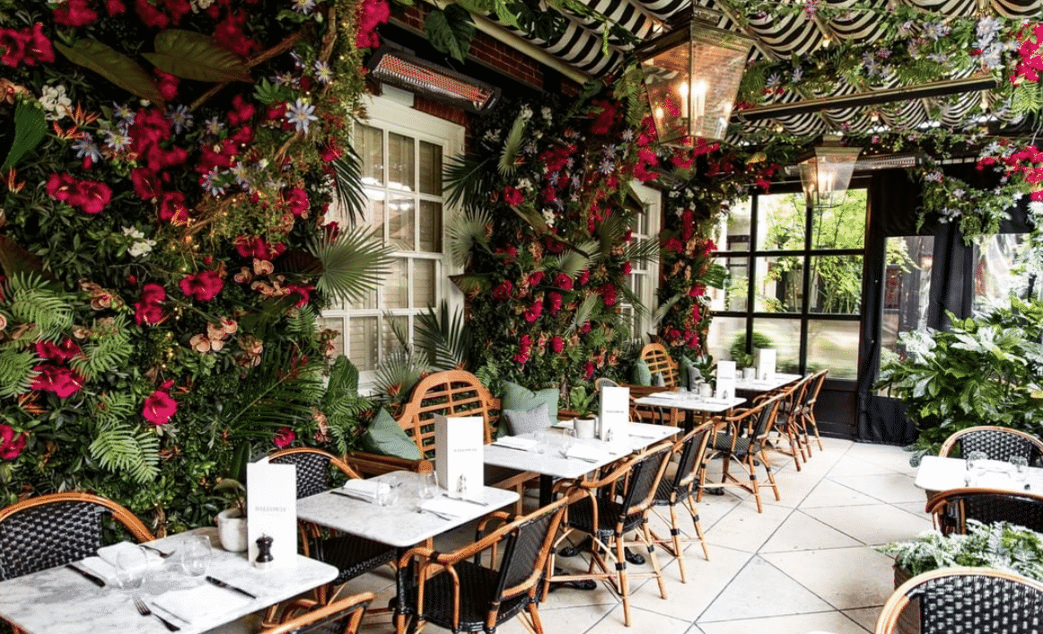 Dalloway Instagrammable Terrace in London