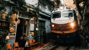 Visit Hanoi Train Street