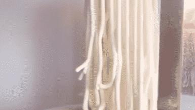 Creamy Spaghetti Ice Cream