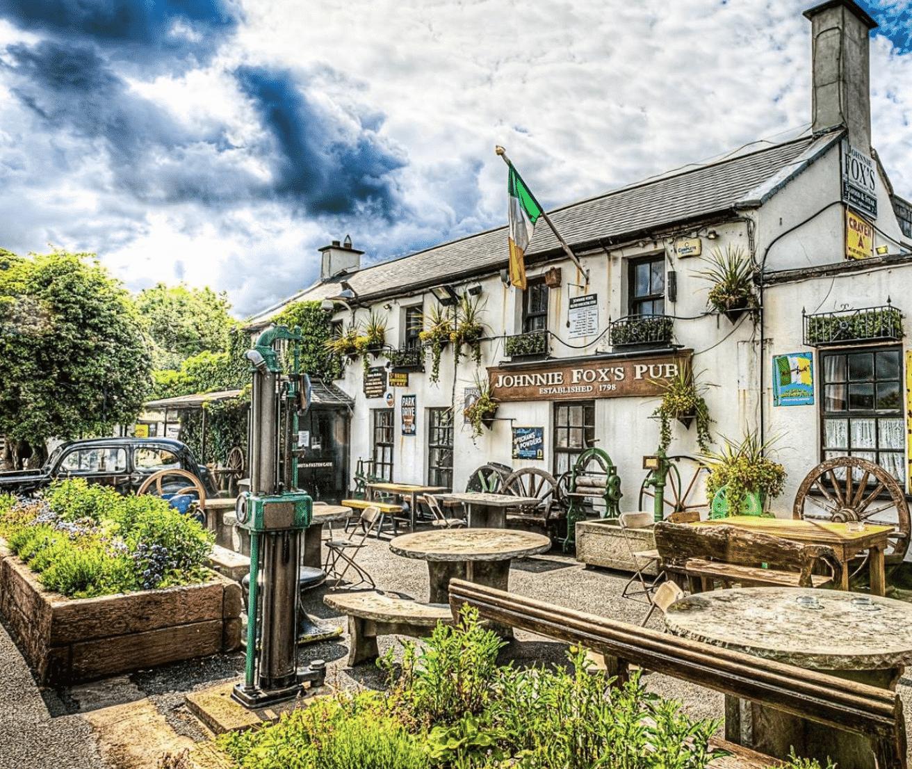 Johnnie Fox's in Dublin