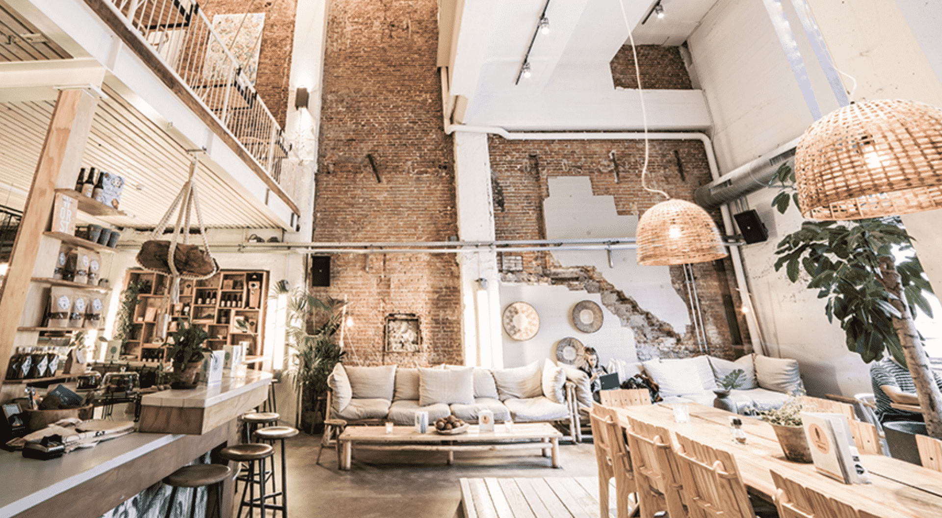 Coffeeshop by day and bar in Amsterdam