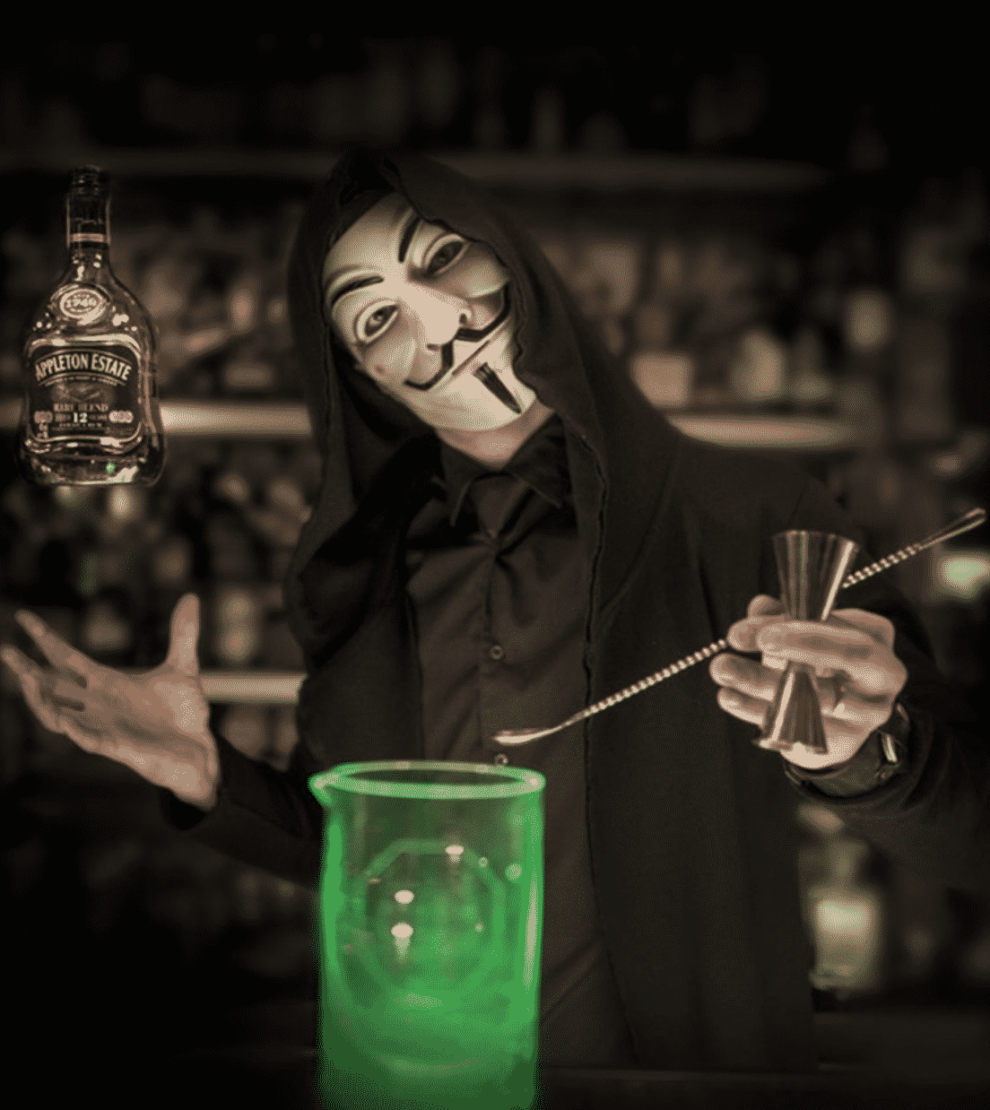 Anonymous Bar in Prague
