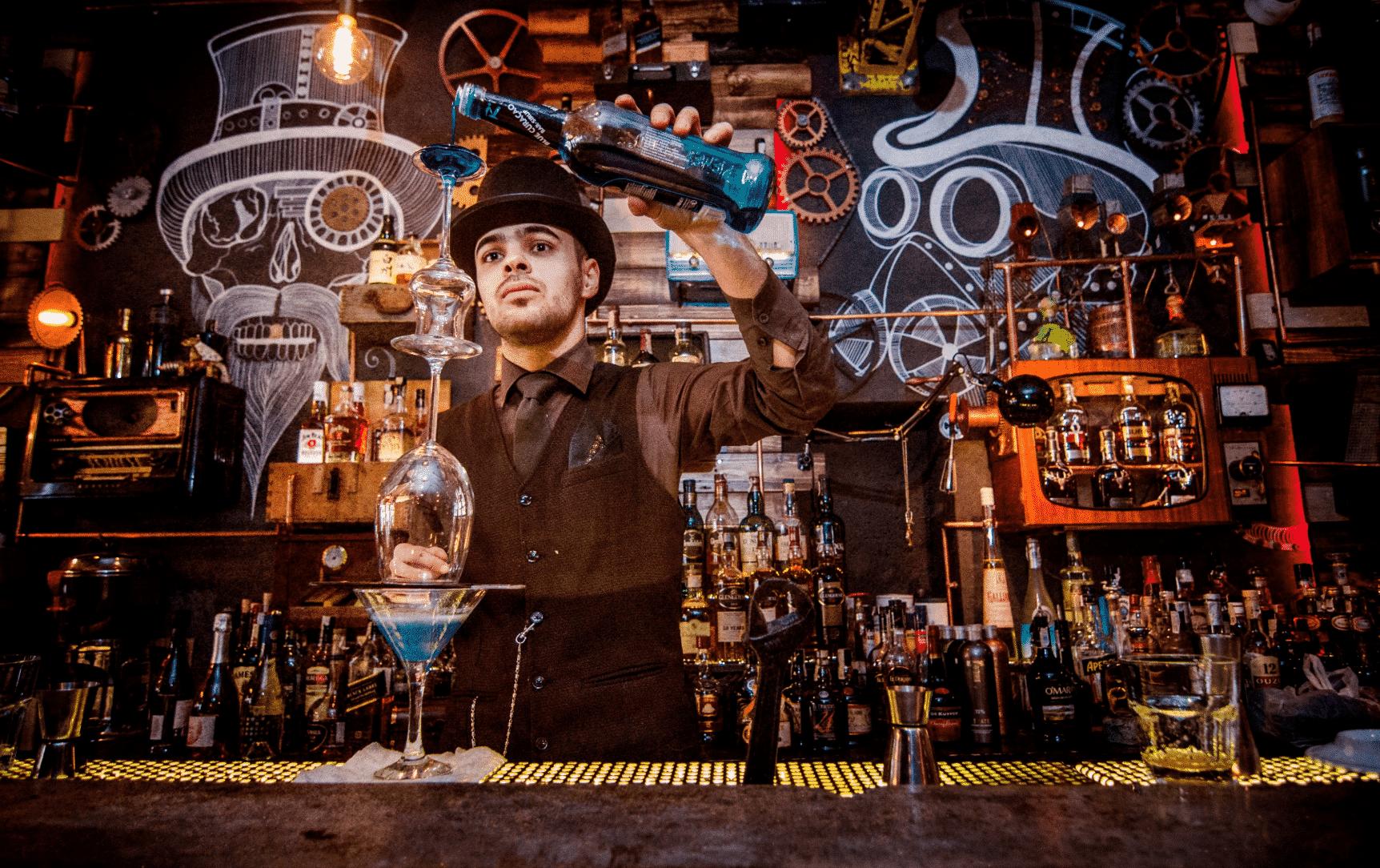 A magical bar in romania