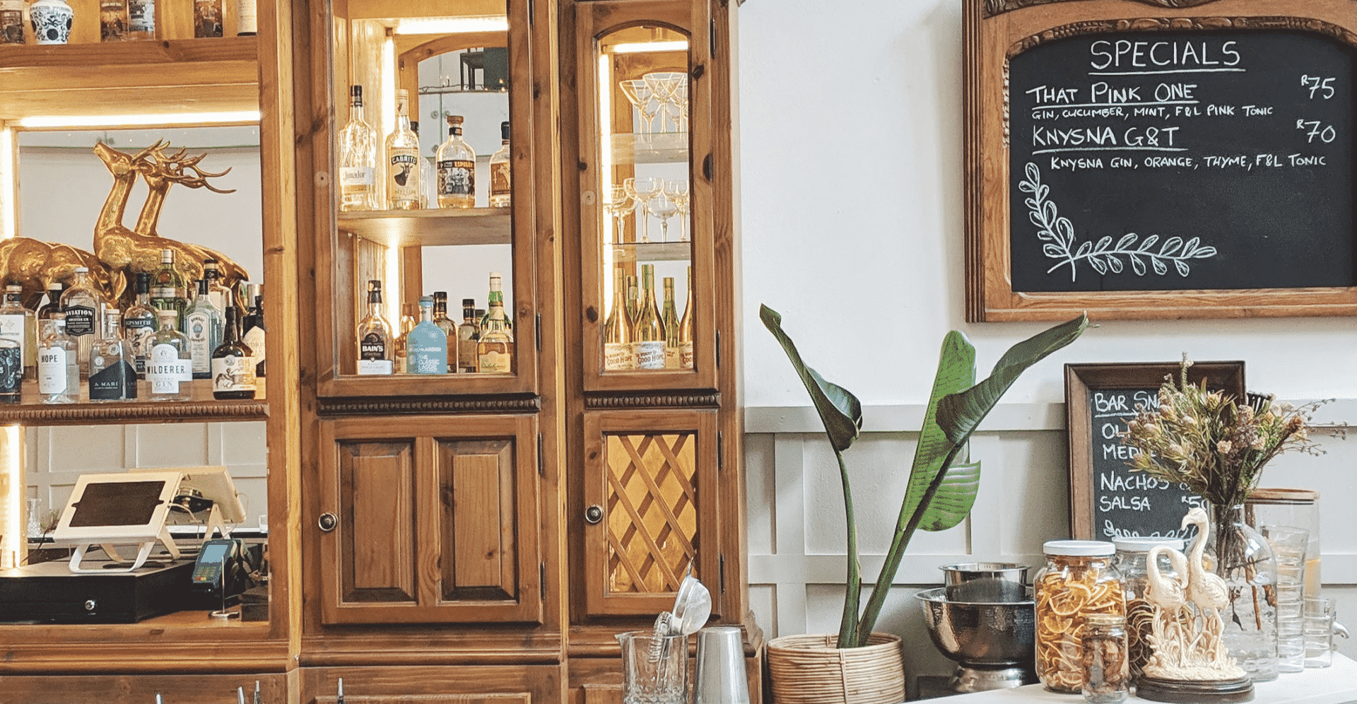 The Gin Bar in Cape Town