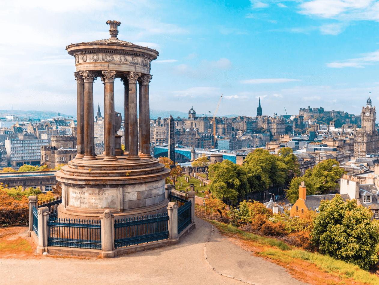 Edinburgh in UK
