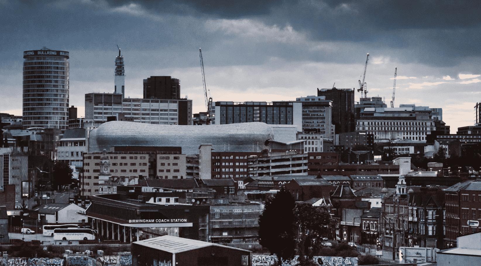 Birmingham in UK