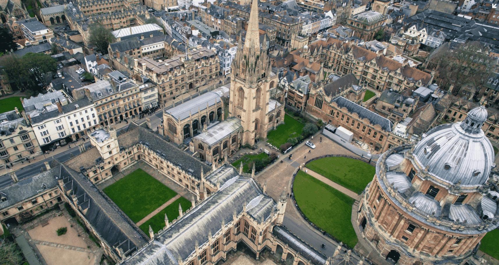 Oxford in UK