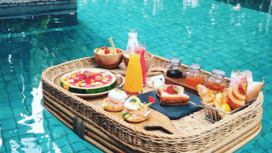 Best Floating Breakfasts In The World