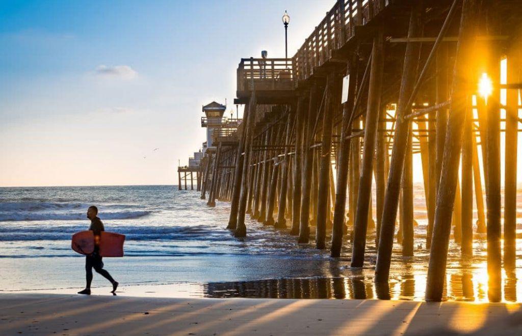 Newport Beach in America