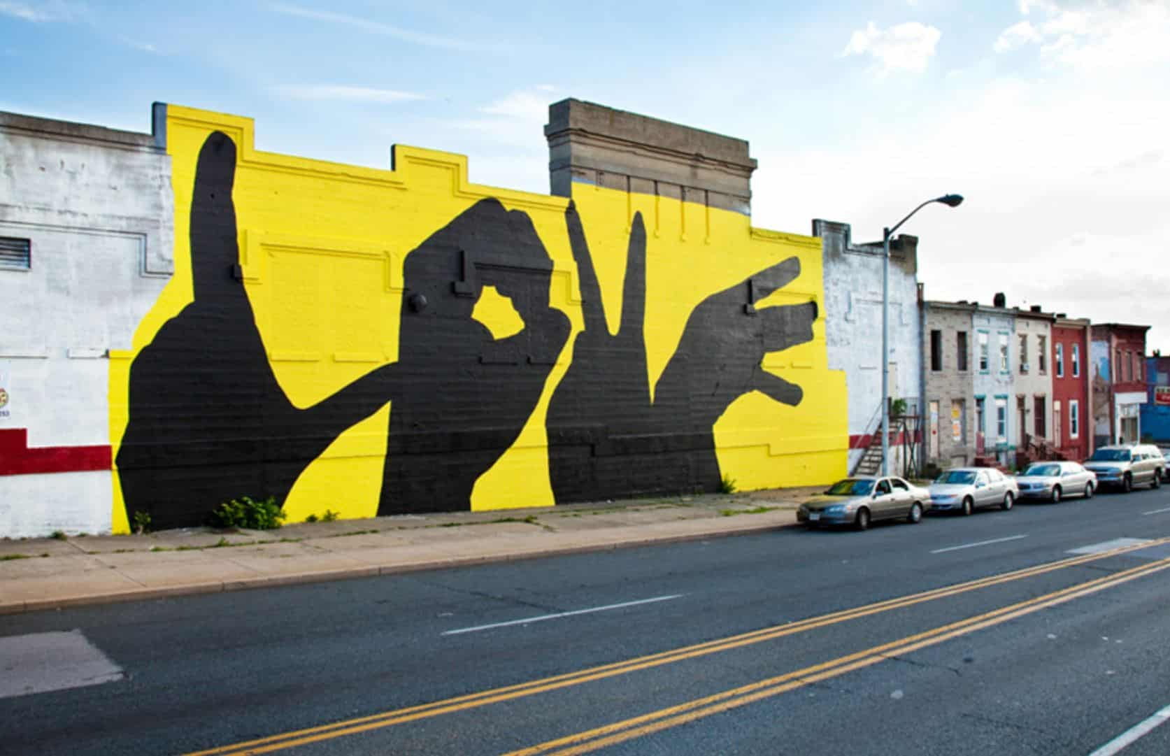 Baltimore Love Project Murals