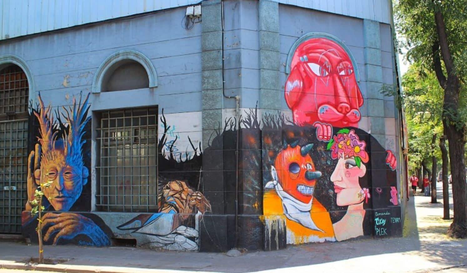 Barrio Yungay in Santiago