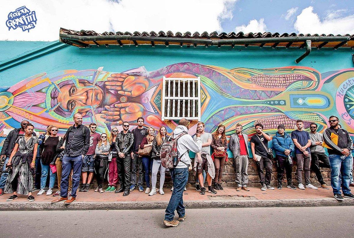 graffiti art in Bogotá