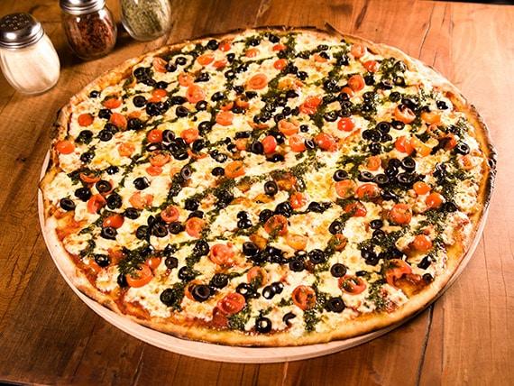 Central Pizza in Santiago