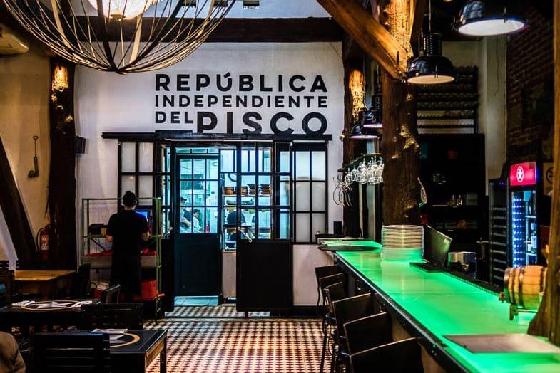 Chipe Libre Bar in Santiago