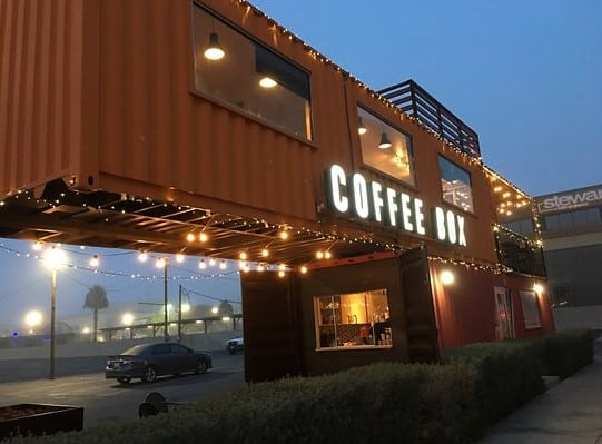 Coffee Box in El Paso