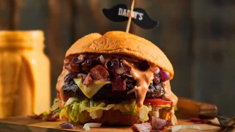 Daddy's Burger in Cairo Egypt