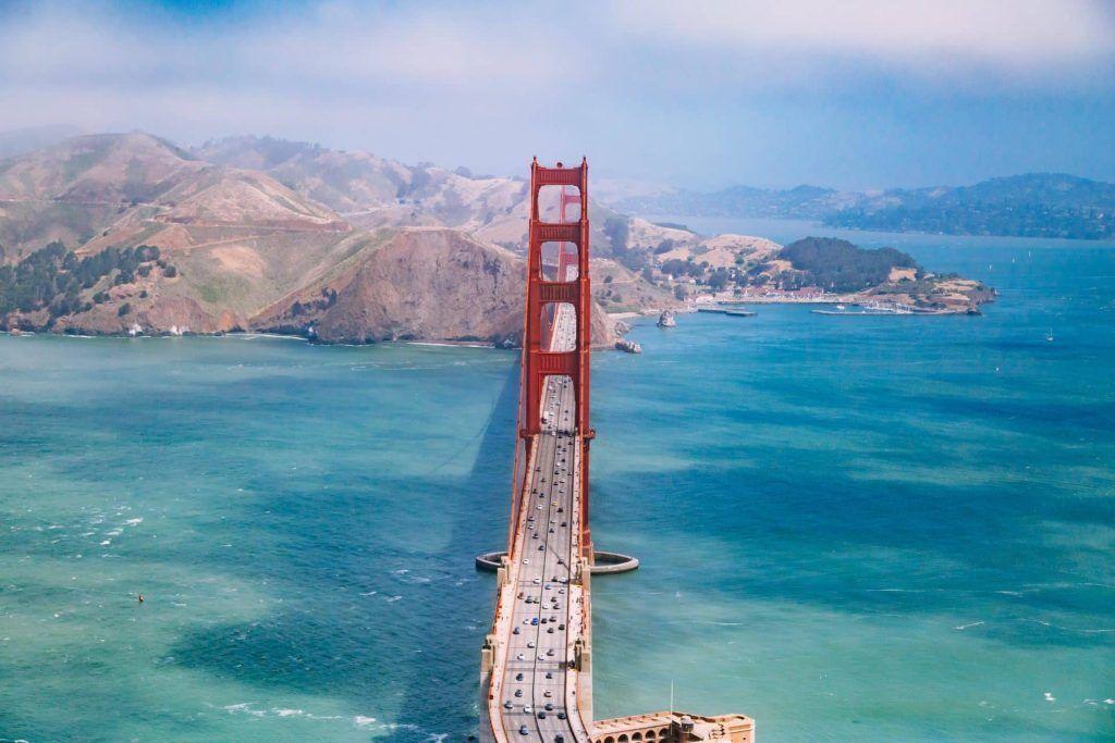 San Francisco in North America