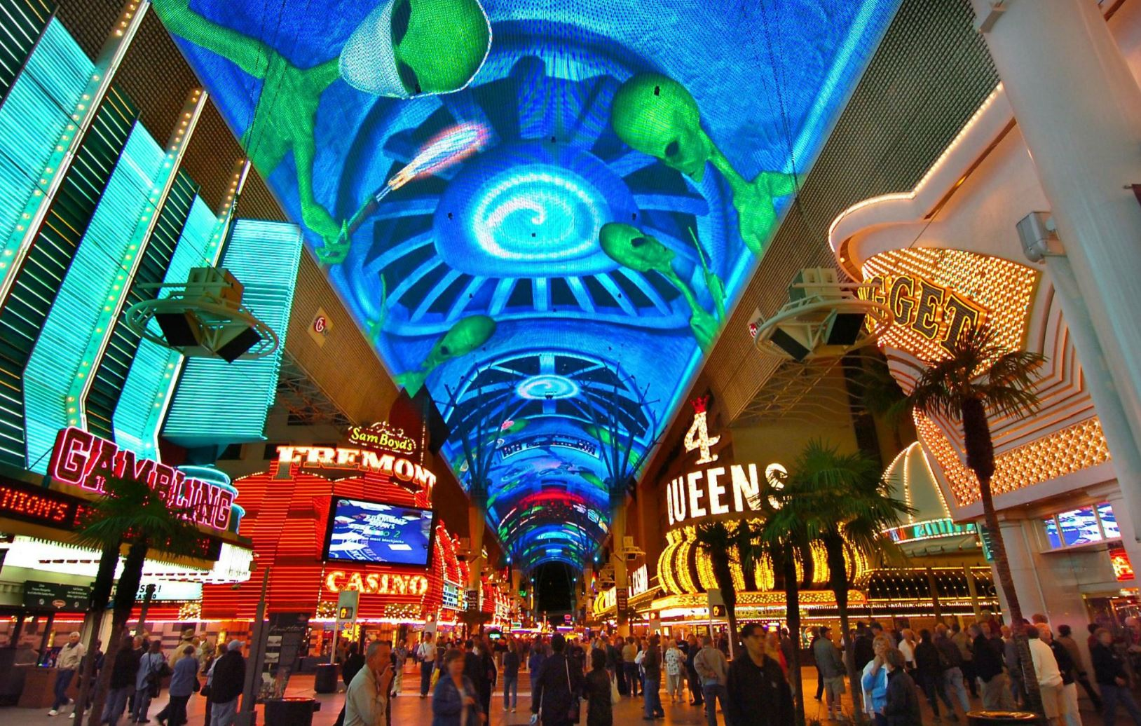 Old Las Vegas on Fremont Street