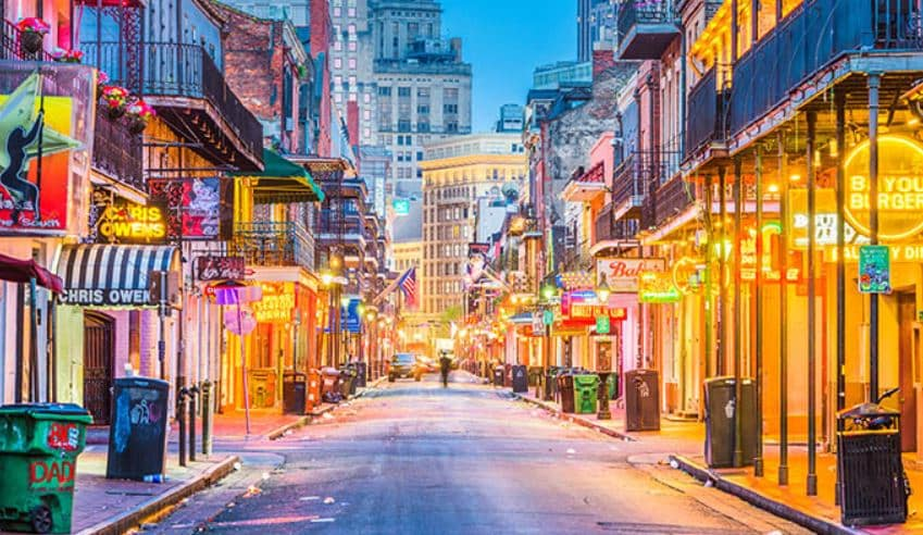Instagrammable places in New Orleans