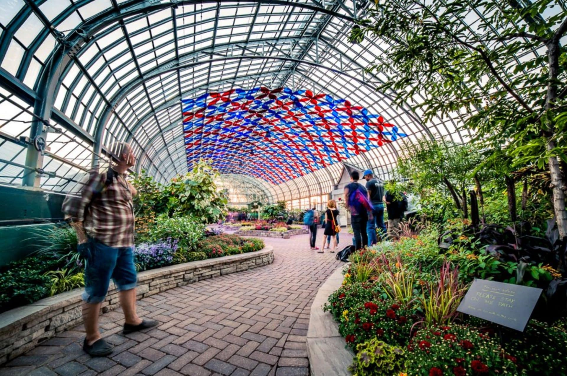 Garfield Park Conservatory in Indianapolis