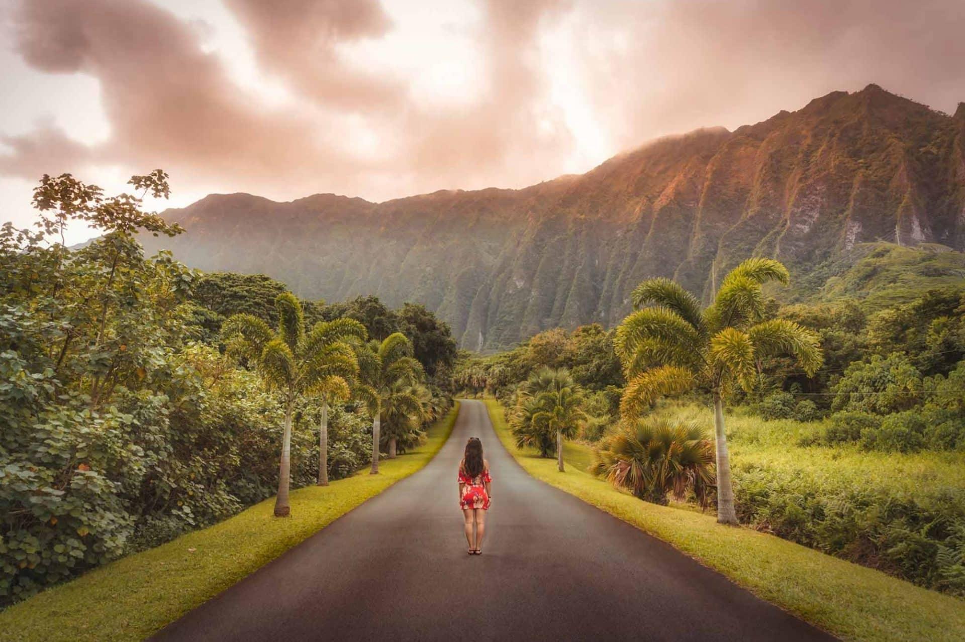 Ho'omaluhia Botanic Garden Honolulu