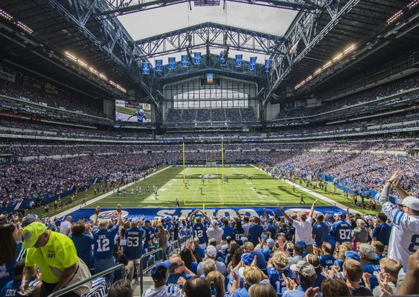 Catch a Colts Game at Lucas Oil Stadium